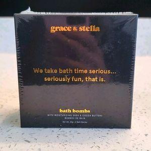 Grace & Stella 4 Pack Bath Bombs